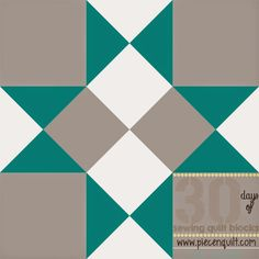 Piece N Quilt: How to: Midnight Star Quilt Block- 30 Days of Sewing Quilt Blocks- Star Version!