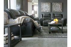 Earhart Manual Reclining Sofa | Ashley Furniture HomeStore Living Room Essentials, Sofa Upholstery, Gray Sofa, Reclining Sofa, At Home Store, Signature Design, Sofa Furniture, Small Living, Recliner