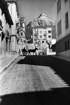 1934 ~ Kolonaki (Lykavittou street), Athens #solebike #Athens #e-bike… Greece Pictures, Old Pictures, Old Photos, Vintage Photos, Greece Photography, Still Photography, History Of Photography, My Athens, Athens Greece