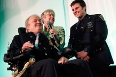"""""""When Detective Steven McDonald was shot on duty at the age of 29, he was told he wouldn't survive the afternoon. Instead he became an international peace advocate."""" • by J Walker Glascock Contributor / C.S. Monitor • photo: Stuart Ramson / Kelly Cares foundation Ivision / AP / File"""