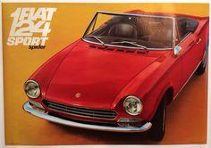 FIAT 124 sport spider Pininfarinamanifesto motors automobiles www. Fiat 124 Sport Spider, Fiat 124 Spider, Fiat Abarth, Steyr, Car Posters, Fiat 500, Sport Cars, Concept Cars, Vintage Posters