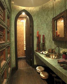 love thisbathroom ad that a  turkish bath(hamam)