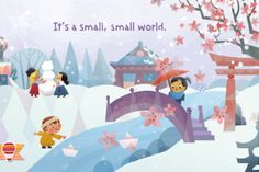 "Experience Walt Disney's ""it's a small world"" ride, song and lyrics in an inspiring new way."