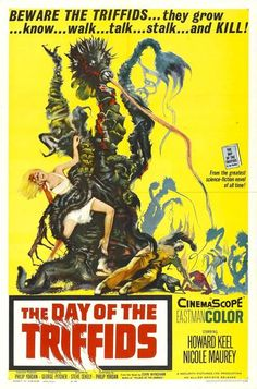 """""""The Day Of The Triffids"""" - 1962 Movie Poster"""