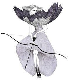 http://www.mymodernmet.com/profiles/blogs/undeniably-glamorous-fashion-illustrations Laura Laine, Illustration Photo, Illustration Styles, Alexander Mcqueen, Fashion Illustrations, Fashion Sketches, Illustration Fashion, Croquis, Moda Fashion