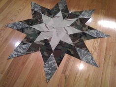 Another idea for an Army quilt.