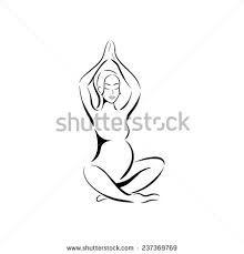 Resultado de imagem para Drawing pregnant black and white drinking