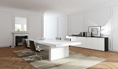 Mobilier birouri la comanda Office Desk, Furniture, Offices, Design, Entertainment, Home Decor, Mesas, Trendy Tree, Desk Office