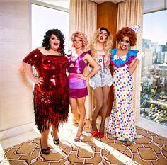 Darienne Lake, Courtney Act, Adore Delano and Bianca Del Rio