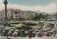 Al Margeh Square Damascus Syria in the 1950's