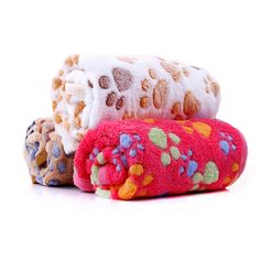 Winter Warm Pet Dog Blanket Cute Dog Bed Mat Thick Coral Fleece Dog Paw Print Sleeping Bed Cover Cushion For Small Medium Dogs Cute Dog Beds, Dog Beds For Small Dogs, Cat Dog, Dog Paws, Pet Grooming, Cãezinhos Bulldog, Bed Mats, Orthopedic Dog Bed, Dog Blanket
