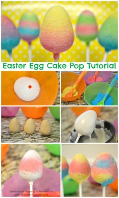 Easter Egg Cake Pops Tutorial