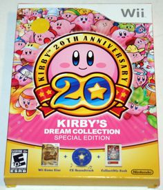 Kirby's Dream Collection Special Edition - Nintendo Wii - NEW & SEALED
