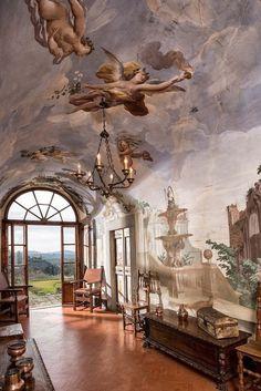 Italy Travel Inspiration - Villa Medicea di Lilliano Florence, Tuscany Italy