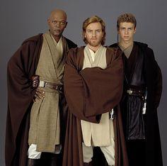 Jedi Knights - Mace Windu, Obi-Wan Kenobi and Anakin Skywalker My Sun And Stars, Love Stars, Sabre Laser, Jw Humor, Nerd Humor, Star Wars Personajes, Jedi Knight, Star War 3, The Force Is Strong