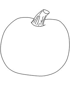 This is best Pumpkin Outline Printable Pumpkin Template On for your project or presentation to use for personal or commersial. Pumpkin Coloring Pages, Fall Coloring Pages, Fall Preschool, Preschool Crafts, Pumpkin Outline Printable, October Crafts, Pumpkin Colors, Crafts For Seniors, Classroom Crafts