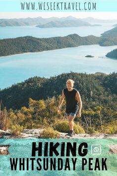 The Whitsunday Peak hike is a short day hike which leads to the highest point on Whitsunday Island. The only guide you'll need for the hike. New Travel, Ultimate Travel, Solo Travel, Travel List, Group Travel, Budget Travel, City Of Adelaide, Airlie Beach, Best Hikes