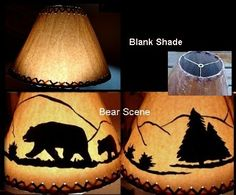Moose-R-Us.Com Oversized Rustic Cabin Lodge Decor Silhouette Moose or Elk Floor Lamp Shade