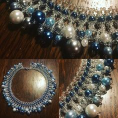 Beaded collar by SimplyByGrySorensen ❤️