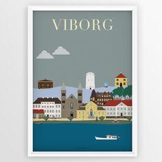 Efter en sejltur i den flotte sø med Margrethe I, kom vi videre rundt i Viborg. Her havde vi muligheden for, at opleve byens gamle gader og huse, som virkelig er med til at kendetegne en af de ældste byer i Danmark.      Undervejs fik vi også bl.a. besøgt den kendte Domkirke, Latinskolen, Generalkommandoen, vandtårnet og set nogle af de mange flotte statuer i byen.   Alle vores plakater bliver printet på 200G. Glossy papir, somgiver dig et print af høj kvalitet. NB: Der følger ikke…