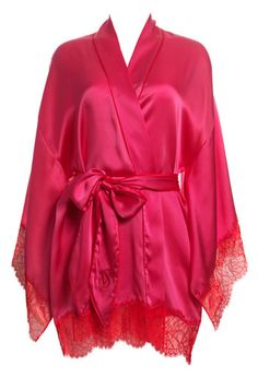 Victoria's Secret Silk Kimono Robe