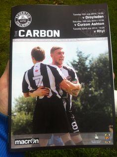 Atherton Collieries v Curzon Ashton 19/7/14