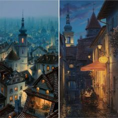 Rooftops of Paris at Twilight (and other Fairytales)