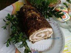 Rolada ze schabu z pieczarkami i orzechami - przyslijprzepis.pl