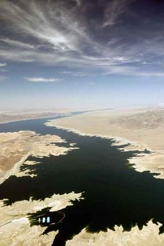 Lake Mead from the air Lake Mead, Nevada, Grand Canyon, Birth, Las Vegas, Spaces, Photo And Video, World, Water