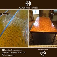 #Wooden #kitchen Dining Table Top Water #liquid Peeling #damage #repair #