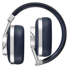 Master & Dynamic Premium High Definition Bluetooth Wireless Over-Ear Headphone - Navy/Silver Wireless Headphones, Over Ear Headphones, Bluetooth, High Definition, Silver, Electronics, Amazon, Amazons