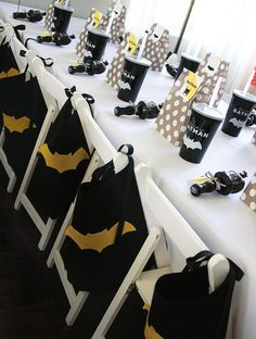 Batman-Birthday-Party-Ideas-for-kids-Batman-Party-Table-Top-DecorYou can find Batman party and more on our website.Batman-Birthday-Party-Ideas-for-kids-Batman-Party-Table-Top-Decor Lego Batman Party, Batman Party Favors, Lego Batman Birthday, Superhero Birthday Party, Boy Birthday, Kids Batman, Birthday Ideas, Batman Batman, Batman Party Decorations