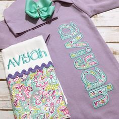 c3fd73df9894 Girl Coming Home Outfit - Baby Girl Gown - Baby Girl Bring Home Outfit - Lavender  Sleeper With Bow - Baby Name Gown - Take Home Outfit
