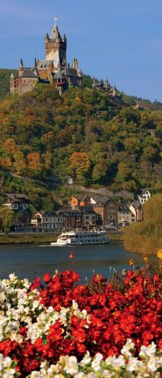 Along the Rhine River in Germany.