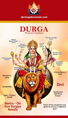 Fierce but loving Warrior Goddess. A new model of Feminine Leadershi… Durga Devi. Fierce but loving Warrior Goddess. Tantra, Durga Goddess, Durga Maa, Hanuman, Divine Mother, Shiva Shakti, Sacred Feminine, Hindu Deities, God Pictures