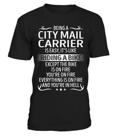 Being a City Mail Carrier is Easy