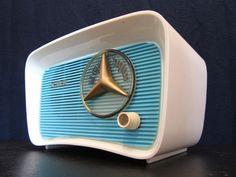 VINTAGE 1950s OLD CBS JET AGE BAKELITE RADIO MID CENTURY MODERNISTIC EAMES ERA | eBay