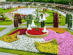 www.dubaiseason.com Dubai Miracle Garden Get New Garden Awards 2015