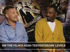 RocknRolla: Tom Hardy and Idris Elba