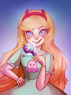 oh i haven't uploaded this huh hahha gliteeze.tumblr.com/post/11699… Star butterfly is from star vs. the forces of evil <33 gOD I LOVE HER DESIGN <3