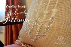 Creating Simply Lovely Pillows  
