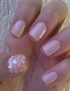 pretty manicure.
