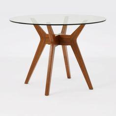 Jensen Round Glass Dining Table 107cm diameter £349