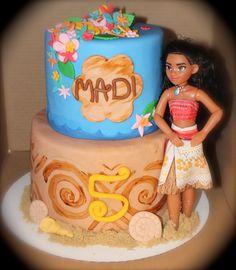 Disney's Moana Cake