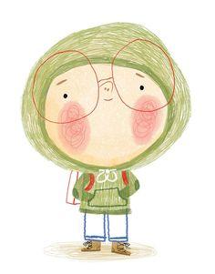Lynn Gaines Design and Illustration - Amandine Piu - Children's Book Illustration, Character Illustration, Illustration Children, Illustrations And Posters, Whimsical Art, Easy Drawings, Cute Art, Book Design, Illustrators