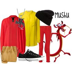 mushu disneybound - Google Search