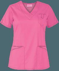 Delantales médicos en colores sólidos, uniformes médicos y de enfermería en Uniform Advantage Spa Uniform, Scrubs Uniform, Scrubs Pattern, Scrubs Outfit, Womens Scrubs, Uniform Design, Medical Scrubs, Nursing Clothes, Girl Fashion