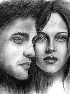 Twilight - Bella and Edward by KJS-1.deviantart.com on @deviantART