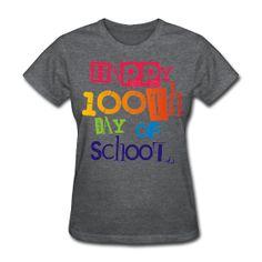 Happy 100th Day of School http://kreativeinkinder.spreadshirt.com/