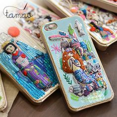 a fantasy world view expressed the general picture book cover case iphone5 Tamao (Tamao) 1 page is filled with handmade tamao iphone case ☆ gadgets iphone5 case cover